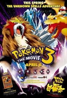 Pokemon The Movie 3: Lord of the Unknown Tower (2000) โปเกมอน มูฟวี่ 3: ผจญภัยบนหอคอยปีศาจ