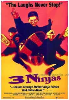 3 Ninjas (1992) นินจิ๋ว นินจา นินแจ๋ว
