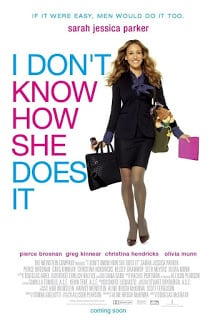 I Don't Know How She Does It (2011) จัดคิวรักให้ลงล็อก