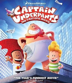 Captain Underpants The First Epic Movie (2017) กัปตันกางเกงใน