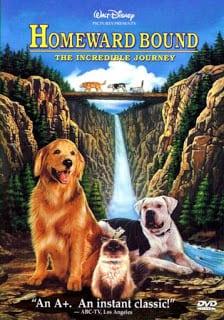 Homeward Bound: The Incredible Journey (1993) 2 หมา 1 แมว ใครจะพรากเราไม่ได้
