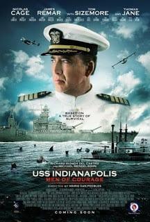 USS Indianapolis: Men of Courage (2016) ยูเอสเอส อินเดียนาโพลิส กองเรือหาญกล้าฝ่าทะเลเดือด