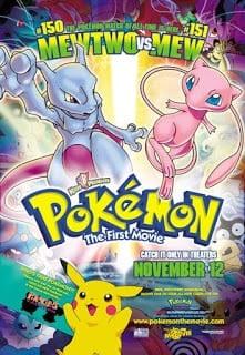 Pokemon Movie 1: Mewtwo Strikes Back (1998) โปเกมอน เดอะ มูฟวี่ 1: ความแค้นของมิวทู