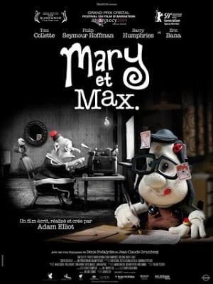 Mary and Max (2009) เด็กหญิงแมรี่ กับ เพื่อนซี้ ช้อคโก้แม็กซ์