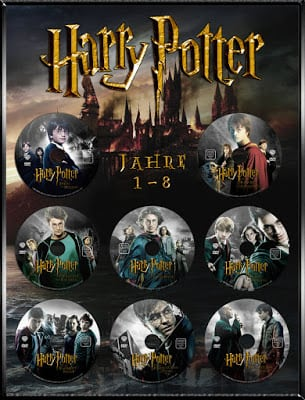 Harry Potter 1-8 The Collection Full HQ ภาพชัดแจ๋ว