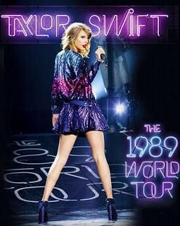 บันทึกเทปคอนเสิร์ต Taylor Swift The 1989 World Tour Live (2015)