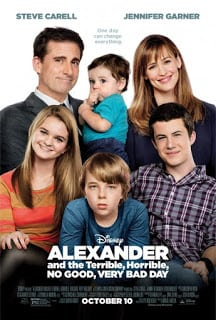 Alexander and the Terrible, Horrible, No Good, Very Bad Day (2014) อเล็กซานเดอร์กับวันมหาซวยห่วยสุดๆ