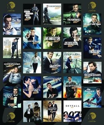 James Bond 007 รวม เจมส์ บอนด์ 007 ทุกภาค The Collection Full HQ ภาพชัดแจ๋ว