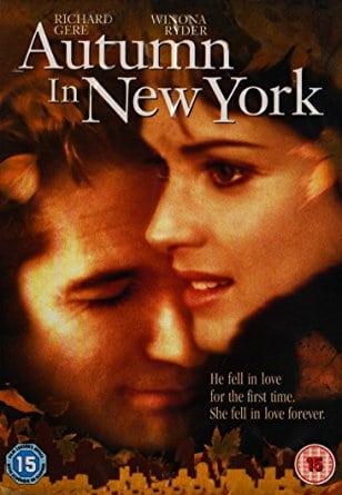 Autumn in New York (2000) แรกรักลึกสุดใจ รักสุดท้ายหัวใจนิรันดร์ (ซับไทย)