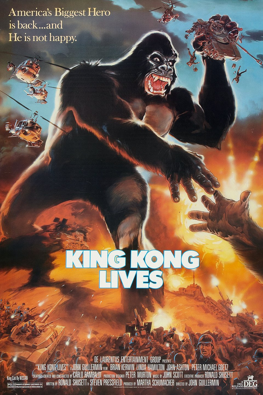 King Kong Lives (1986) คิงคอง 2 กำเนิดใหม่ให้โลกตะลึง