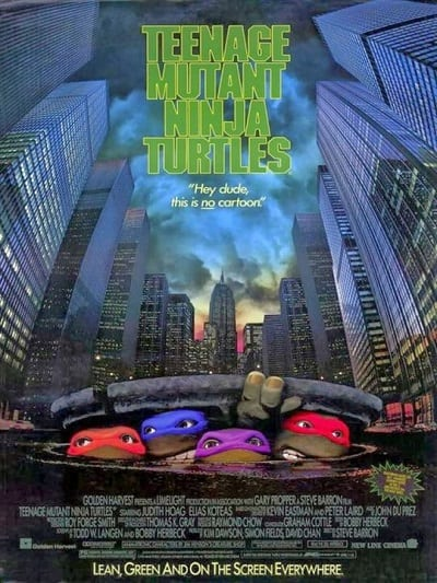 Teenage Mutant Ninja Turtles (1990) ขบวนการมุดดินนินจาเต่า