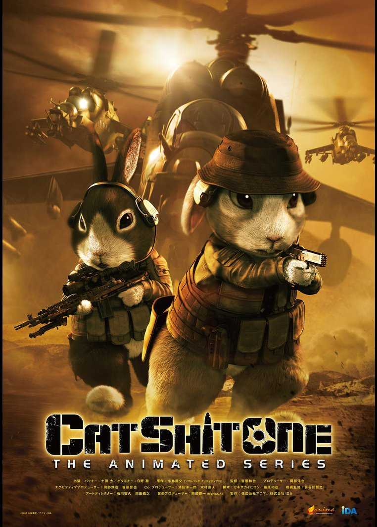 Cat Shit One (2010) กระต่ายพันส์เดือด (ซับไทย)