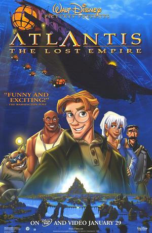 Atlantis: The Lost Empire (2001) แอตแลนติส ผจญภัยอารยนครสุดขอบโลก