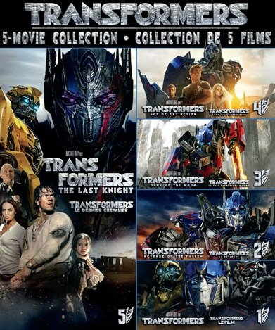Transformers 1-5 The Collection Full HQ ภาพชัดแจ๋ว