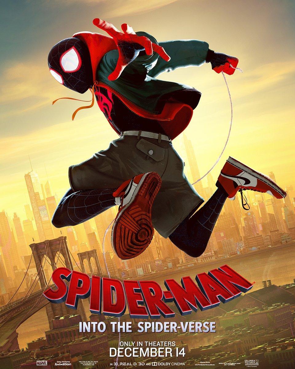 Spider-Man: การ์ตูน Into the Spider-Verse (2018) สไปเดอร์-แมน: ผงาดสู่จักรวาล-แมงมุม