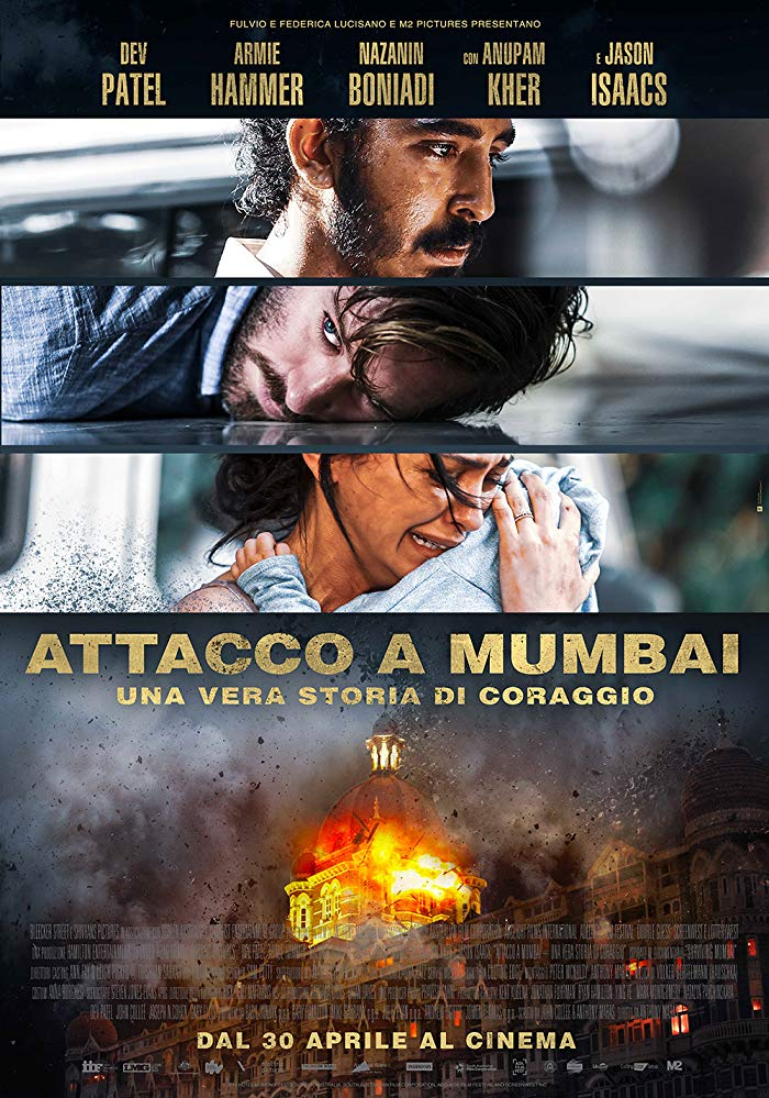 Hotel Mumbai (2018) มุมไบ เมืองนรกแตก