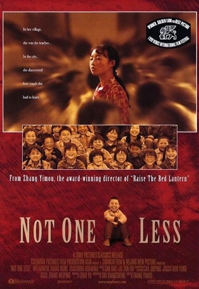 Not One Less (1999) ครูตัวน้อย หัวใจไม่น้อย