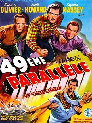 49th Parallel (1941) ฝ่านรกสมรภูมิเดือด