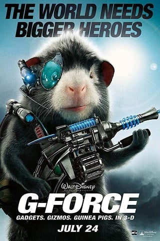 G-Force (2009) จี-ฟอร์ซ หน่วยจารพันธุ์พิทักษ์โลก