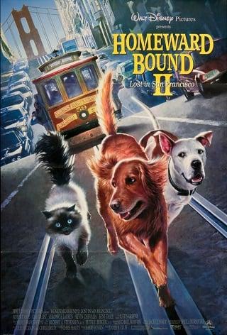 Homeward Bound II Lost in San Francisco (1996) 2 หมา 1 แมว หายไปในซานฟรานซิสโก