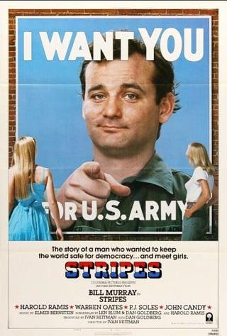 Stripes (1981) ทหารจ๋องสมองเสธ