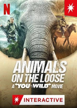 Animals on the Loose: A You vs. Wild Movie | Netflix (2021) ผจญภัยสุดขั้วกับแบร์ กริลส์ เดอะ มูฟวี่