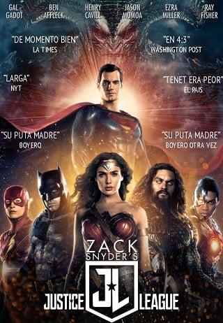 Zack Snyder's Justice League (2021) แซ็ค สไนเดอร์ จัสติซ ลีก ภาคล่าสุด (พากย์ไทย)