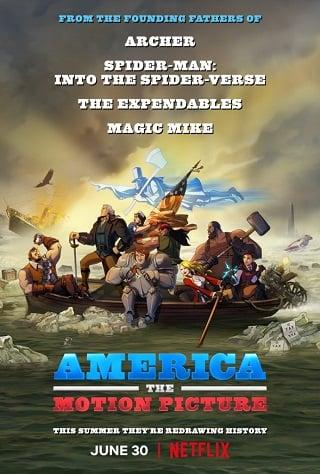 America: The Motion Picture | Netflix (2021) อเมริกา เดอะ โมชั่น พิคเจอร์