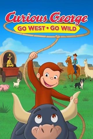 Curious George Go West, Go Wild (2020) จ๋อจอร์จจุ้นระเบิด ป่วนแดนคาวบอย