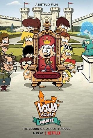 The Loud House Movie   Netflix (2021) ครอบครัวตระกูลลาวด์ เดอะ มูฟวี่