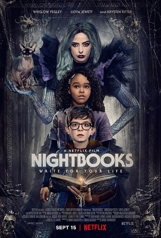 Nightbooks | Netflix (2021) ไนต์บุ๊คส์