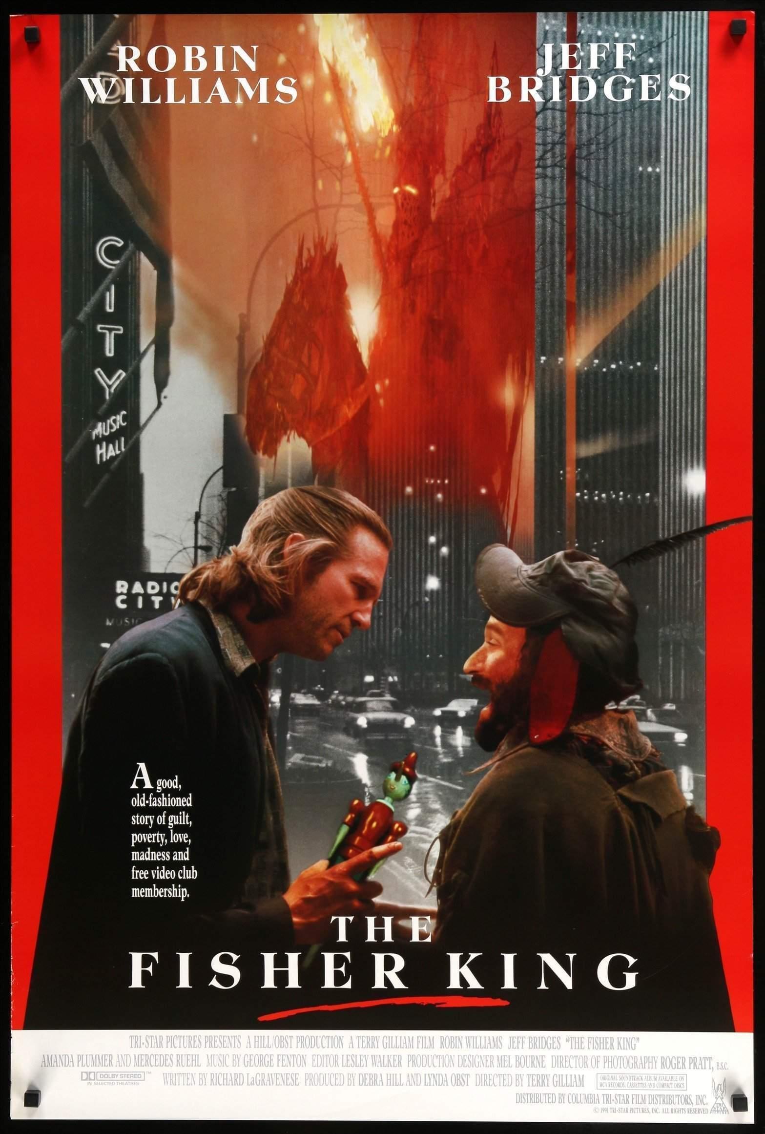 The Fisher King (1991) บ้ากระตุกหลวม