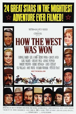 How The West Was Won (1962) พิชิตตะวันตก